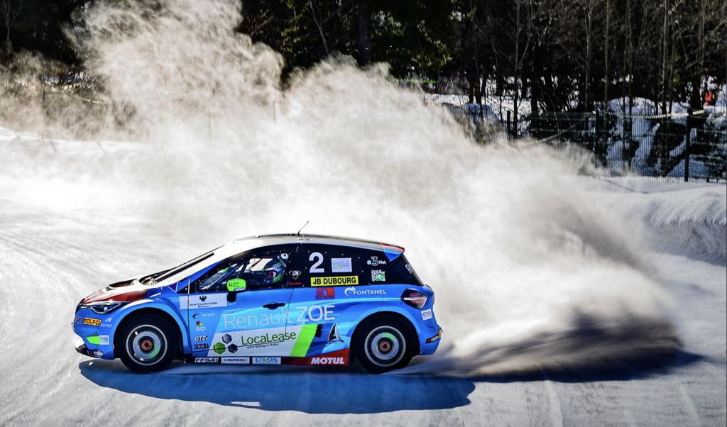 Dubourg crowned Andros E-Trophy champion!