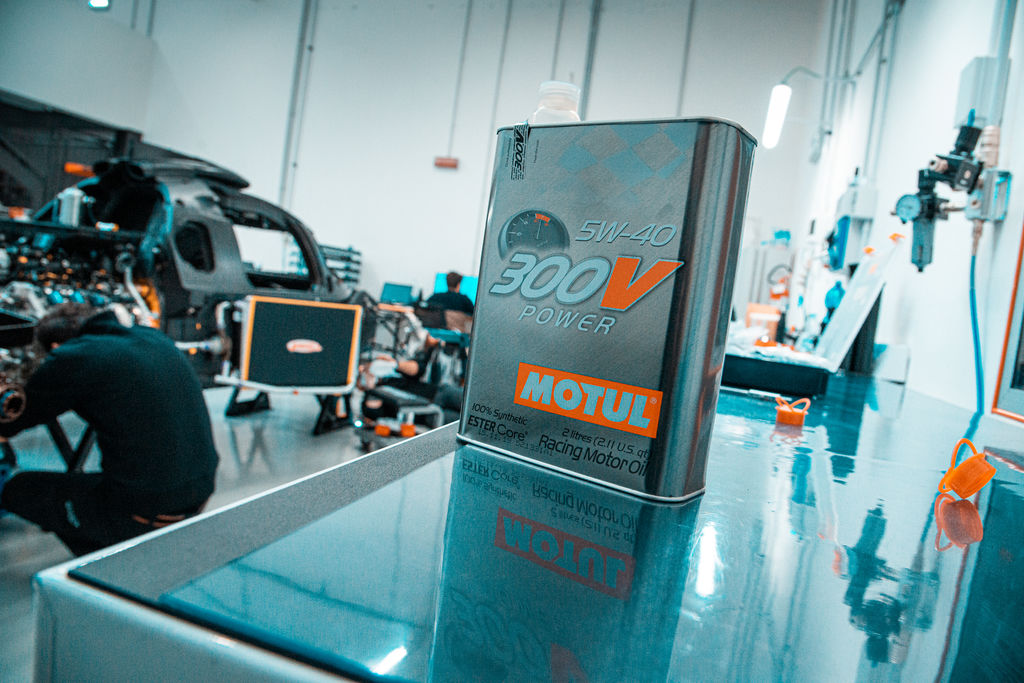 "Podium Technology: ""We were already using Motul with Glickenhaus' Nürburgring racing"""