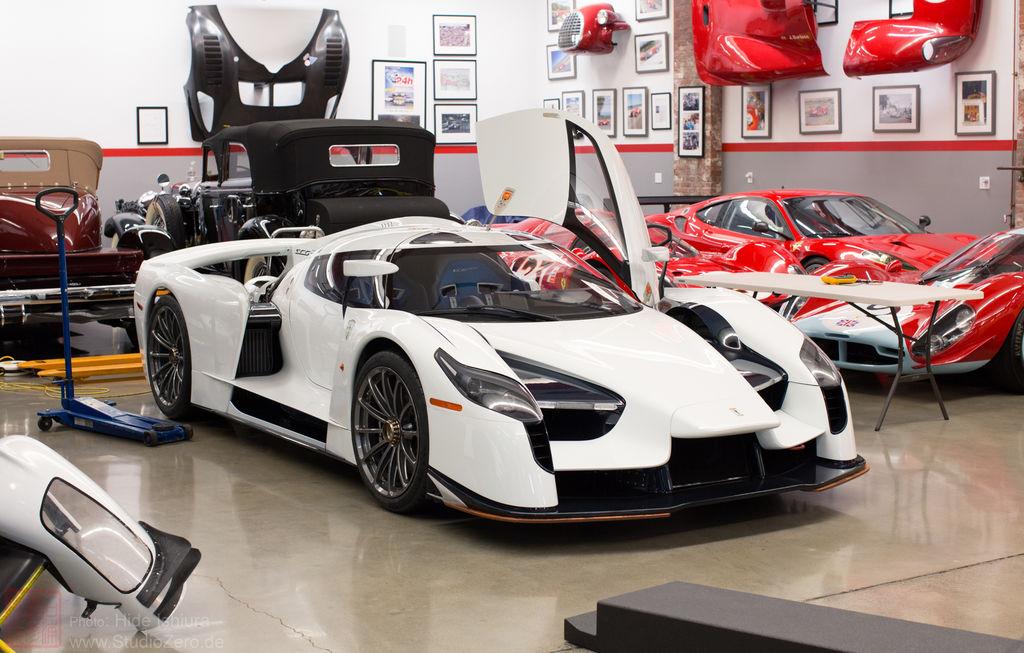 """James Glickenhaus : """"Ma vision est de construire des voitures de course pour la route"""""""