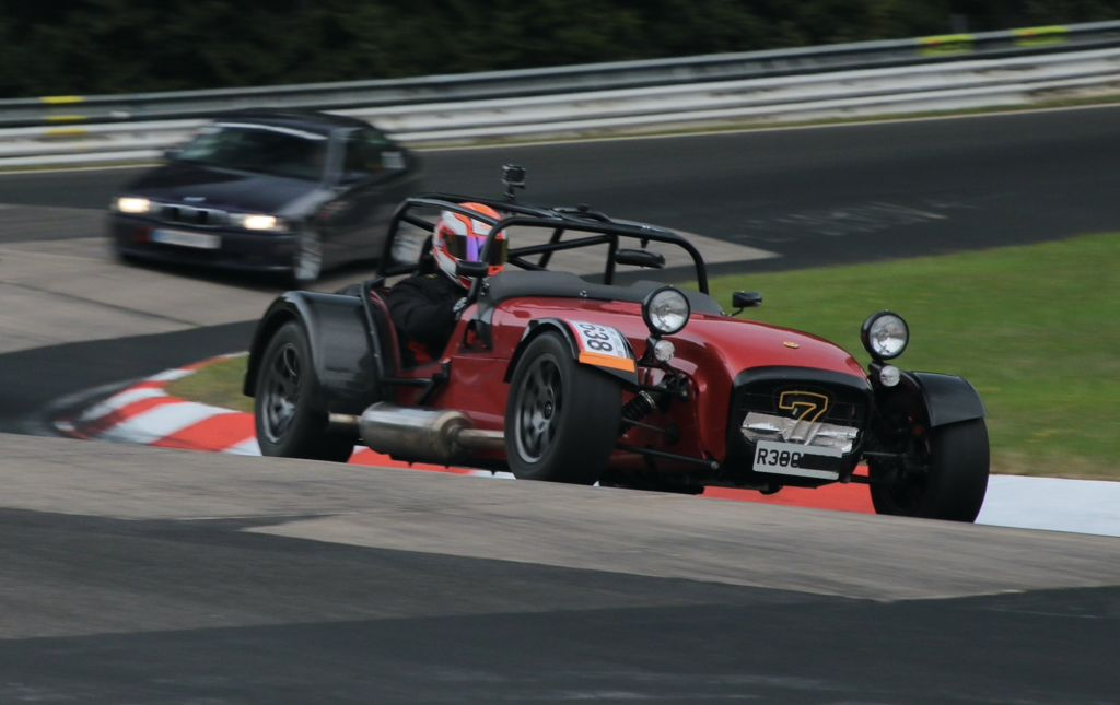 What's it like driving a Caterham from the UK to the Nürburgring?