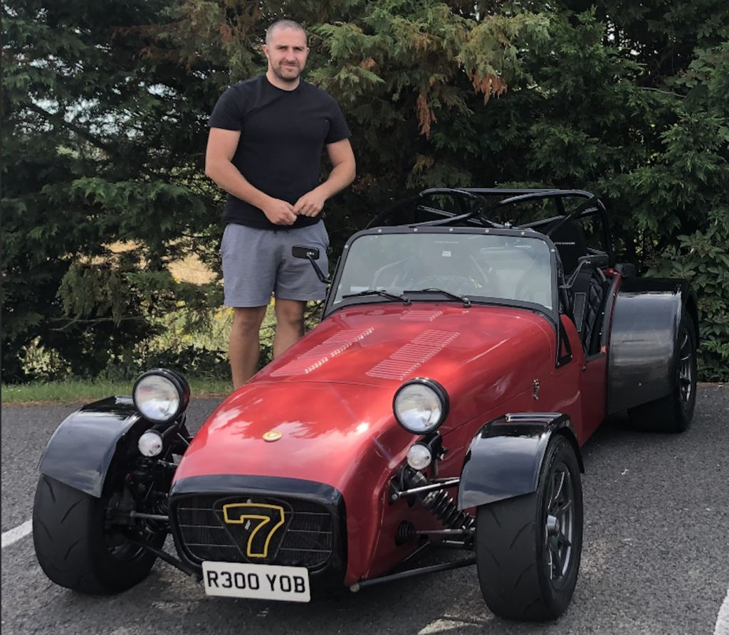 What do you do when you're not racing and tinkering on your Caterham?