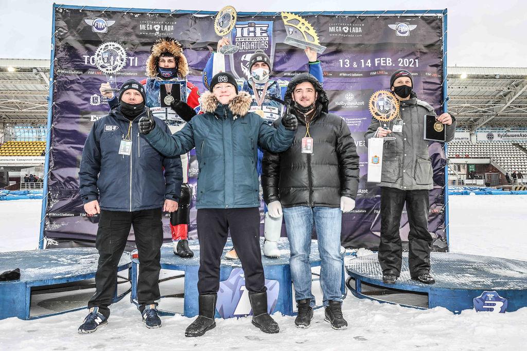 Уфимец Динар Валеев стал чемпионом по гонкам на льду по итогам заездов в Тольятти.