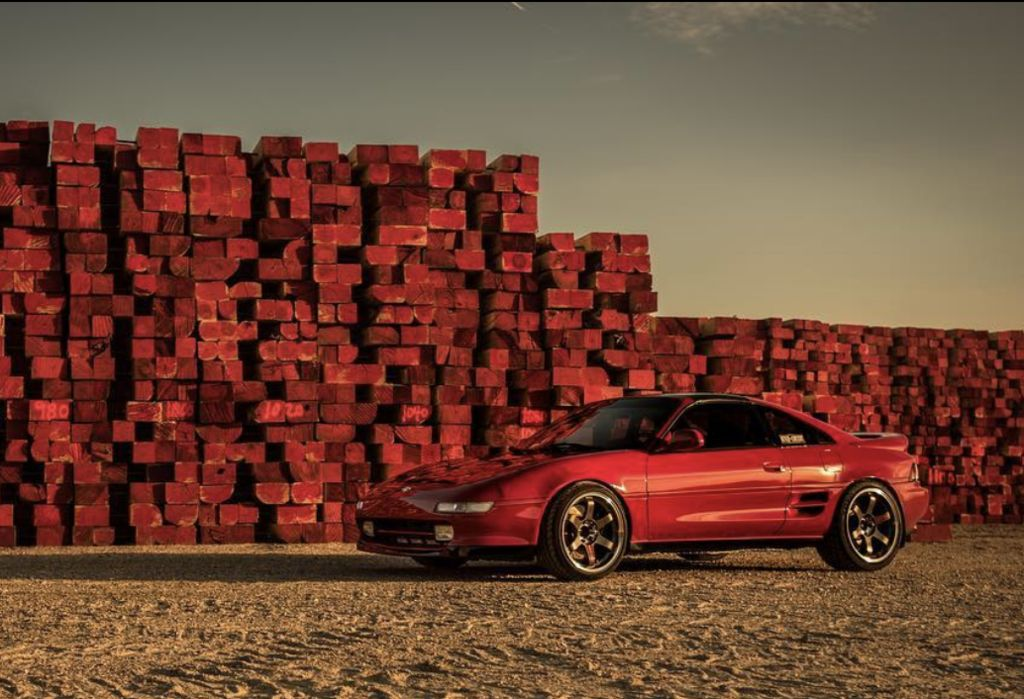 Mike, tell us the story behind your fantastic-looking, Motul-lubricated Toyota MR2.