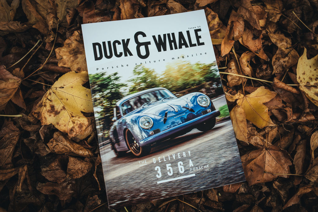 Duck and Whale: the beautiful art mag for Porsche fans
