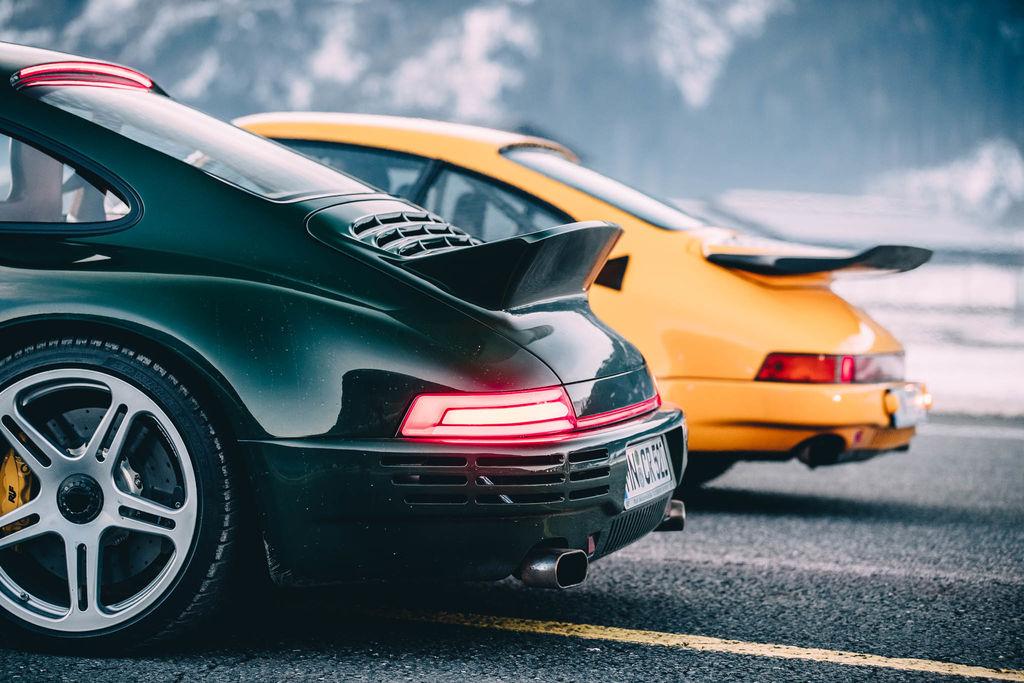 Sie haben das Auto seit über 30 Jahren, es muss einige großartige Geschichten geben, die Sie damit verbinden?