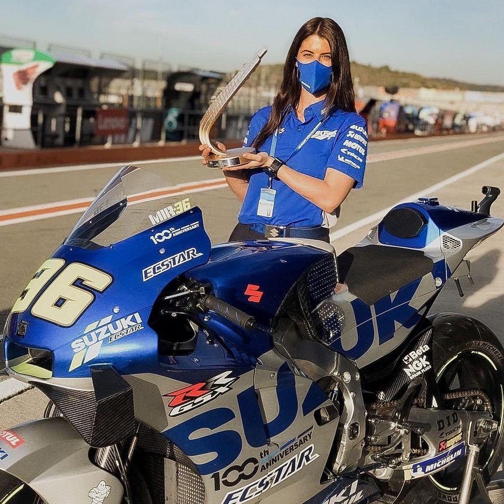 ADRIANA PINTO, Coord. Digital Team Suzuki MotoGP