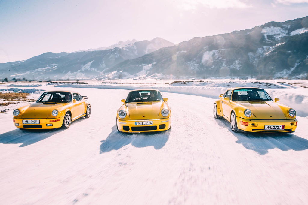 What's the story of the GP Ice Race?