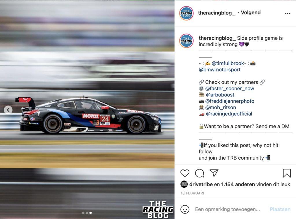 КАК ПОЯВИЛСЯ The Racing Blog, ТИМ?