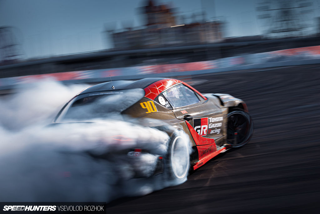 How important is it for you that a large OEM such as Toyota is supporting drifting?