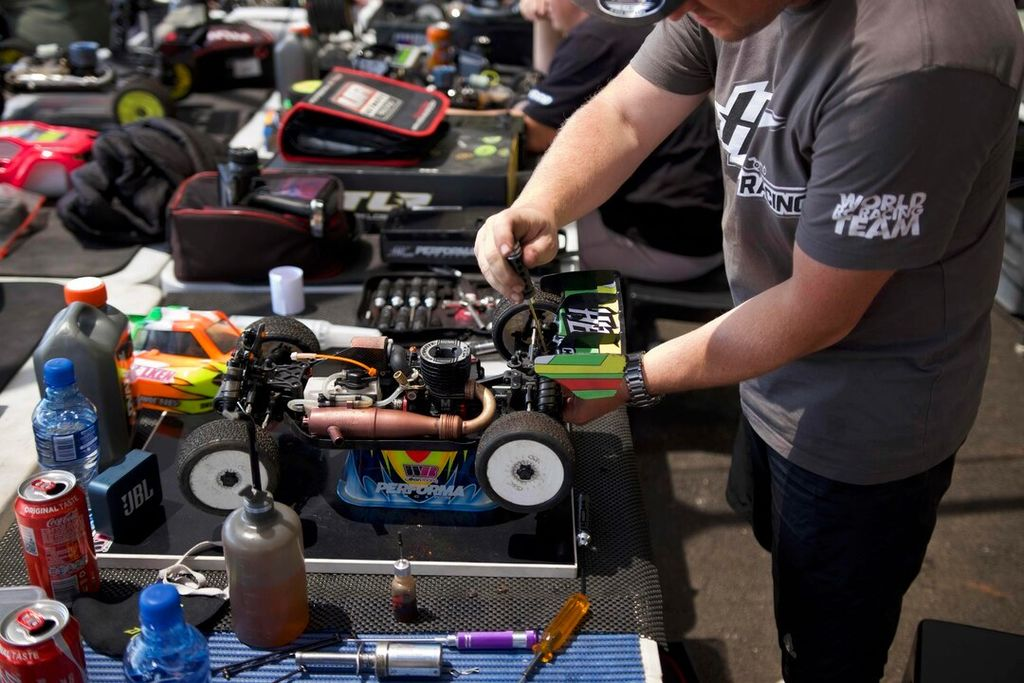 Is RC racing something you've always been into?