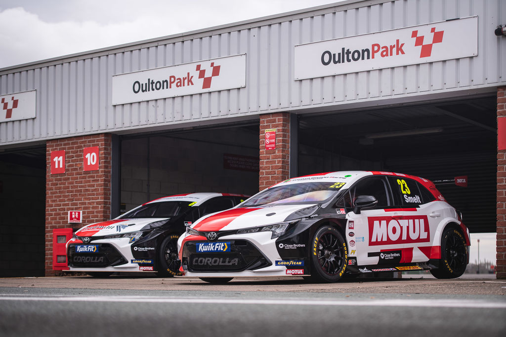 Congratulations on the new livery, Christian. It looks amazing and we're very humbled to see Motul's brand featuring so prominently on the cars.