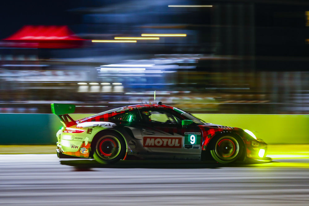 LAURENS VANTHOOR AND PFAFF THRIVE ON THE BUMPS OF SEBRING