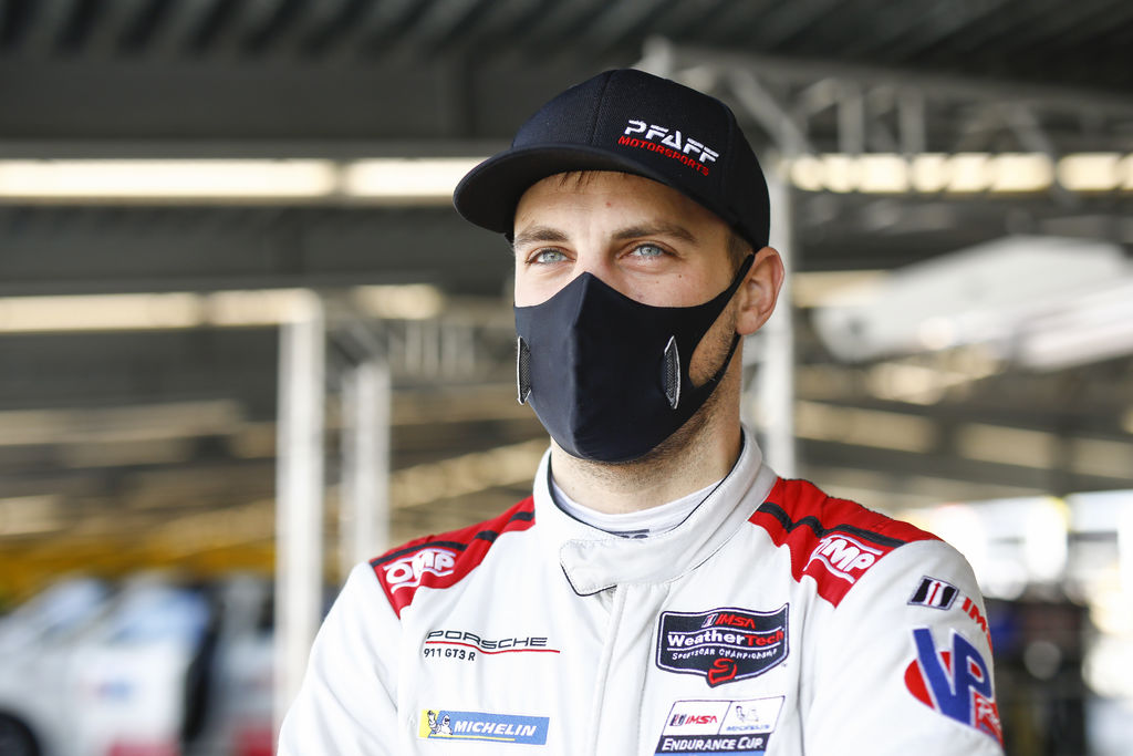 Laurens, first of all, congratulations on the success at Sebring! It must be a great experience already having joined the Canadian Pfaff effort only a few months ago. What's your feeling about the new team?