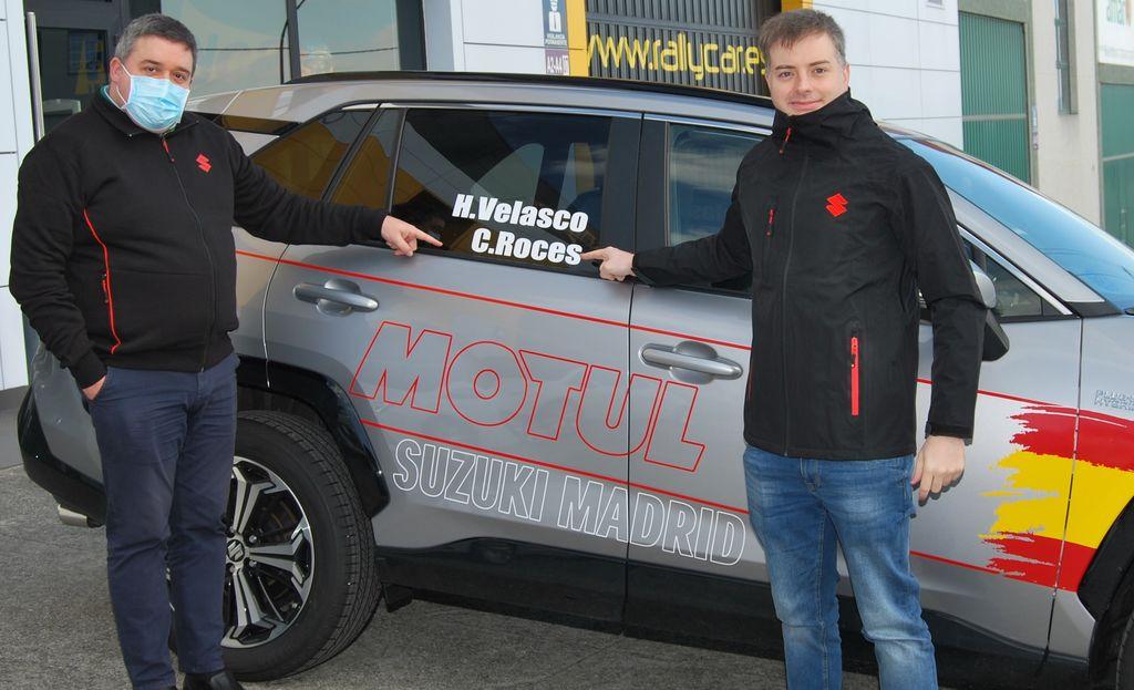 Así es el Suzuki Across del Campeonato de España de Energías Alternativas CEEA