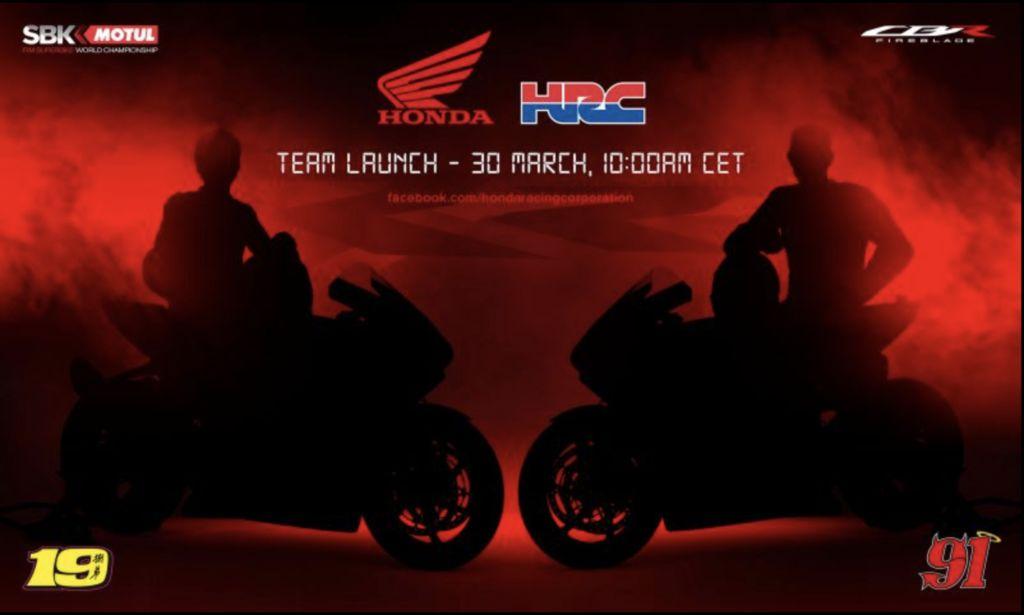 A Motul será a patrocinadora oficial da equipa HRC no 2021 FIM Motul World Superbike Championship.