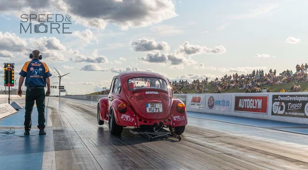 What's it like drag racing this car? What's the secret to getting a good time?