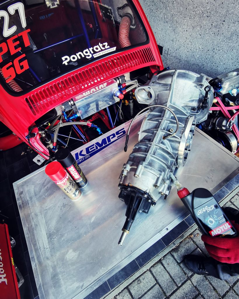 What's your connection with Motul and why did you choose to put our lubricants in the car?