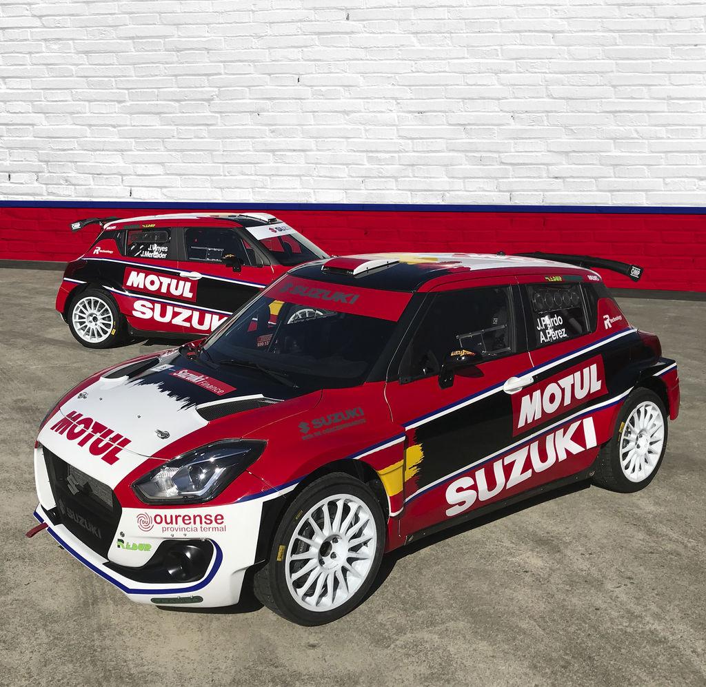 El Rallye Sierra Morena será el punto de salida para el equipo Oficial Suzuki y la Copa Suzuki Swift en este nuevo año.