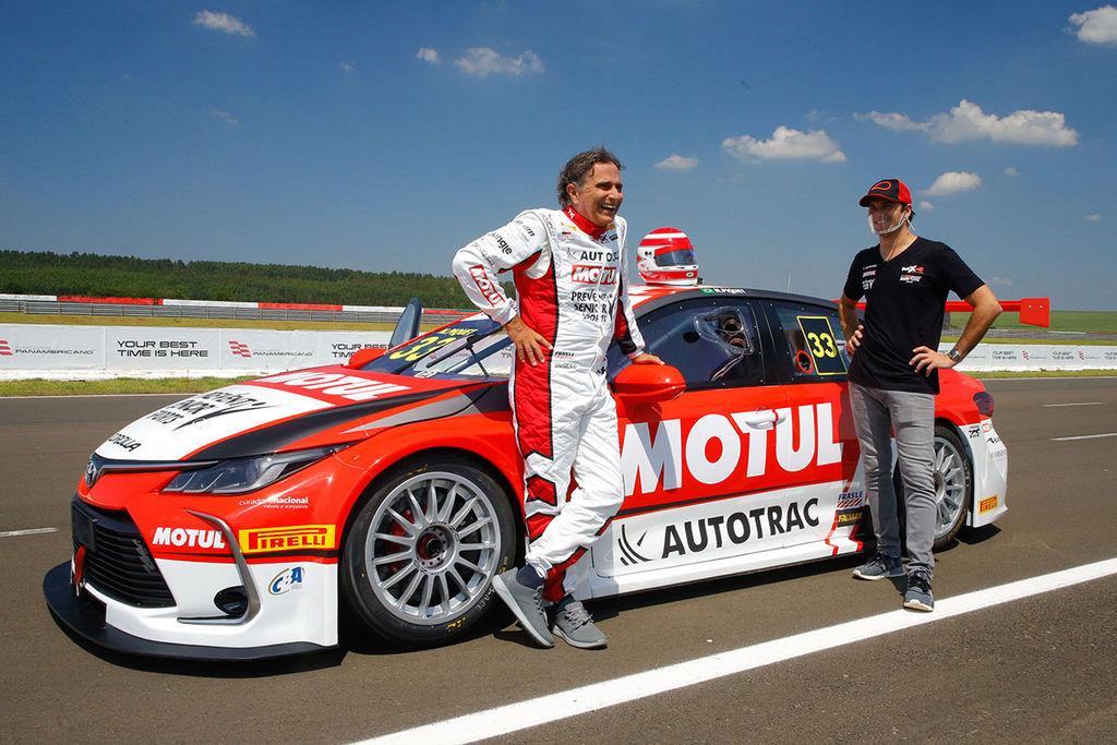 Seu retorno às corridas brasileiras também é o retorno de um nome familiar, Piquet Sports. Qual é a história por trás disso?