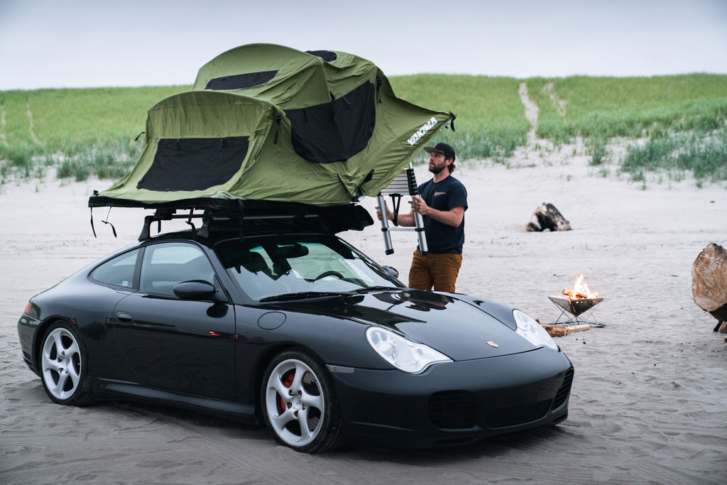 Brock, first of all, a tent on a 911?