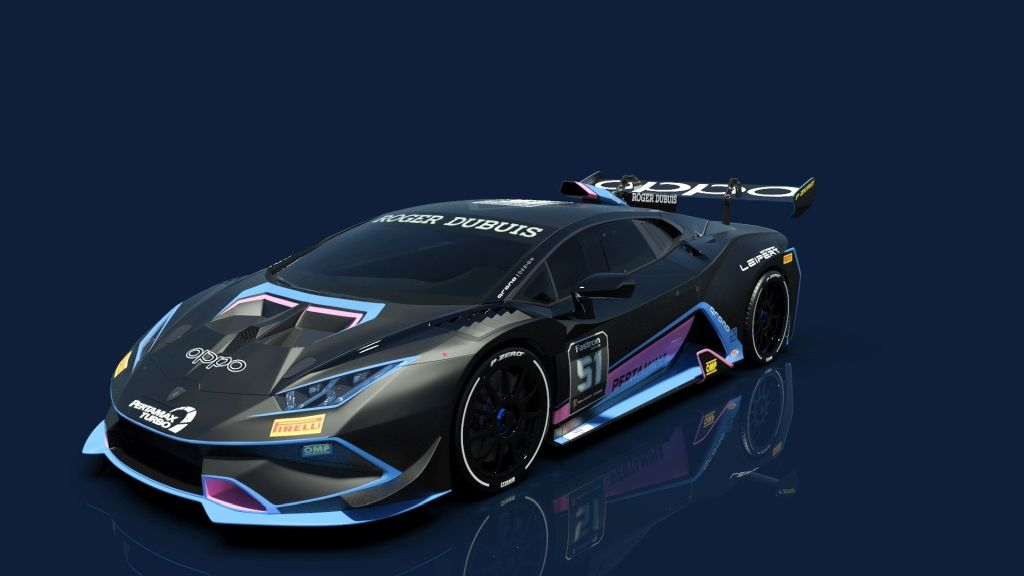 Fünf Lamborghini Huracán in der Super Trofeo!