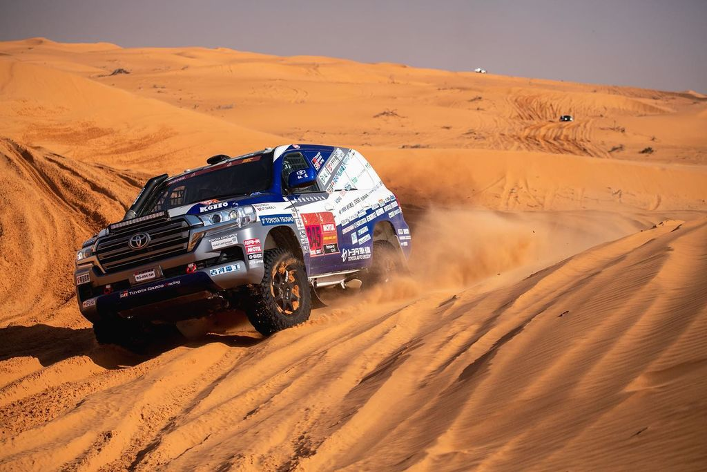 In your career, you've changed from endurance racing and racing on tarmac to full off-road racing and competing in the Dakar. Why this big change?