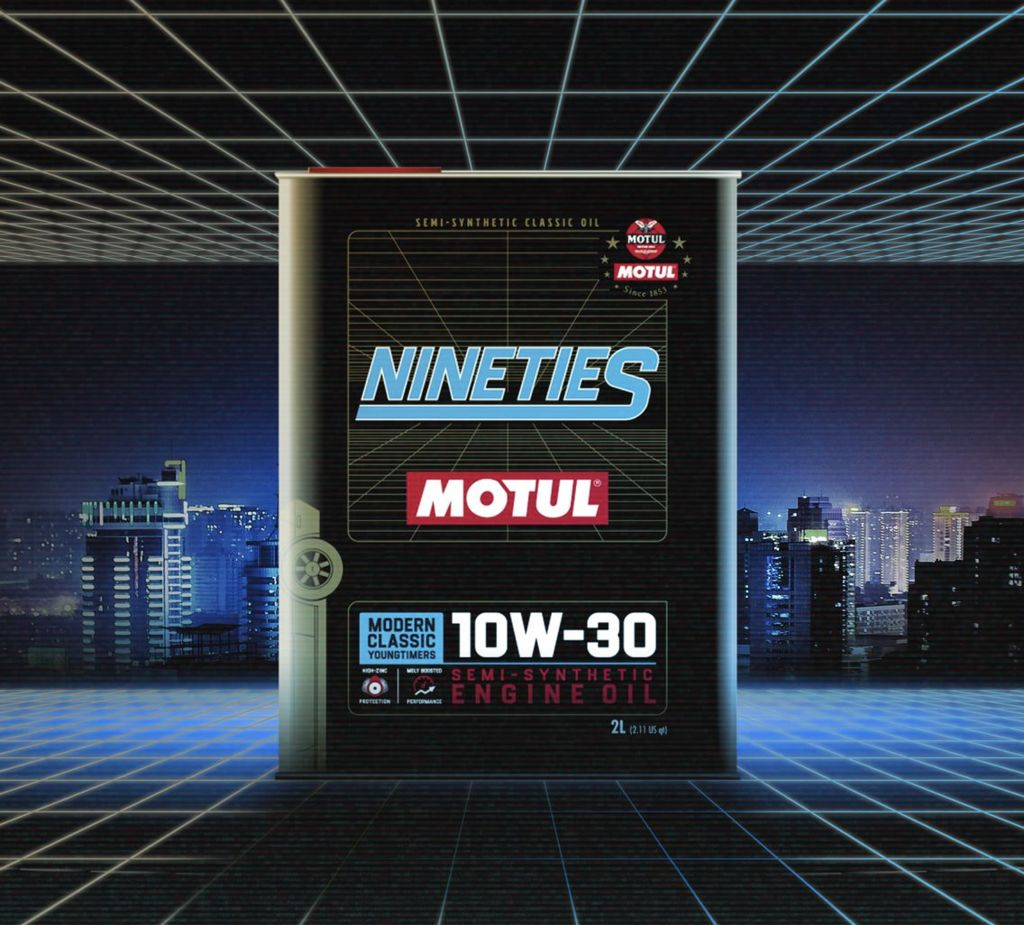 MOTUL LAUNCHES CLASSIC ENGINE OILS FOR YOUNGTIMERS