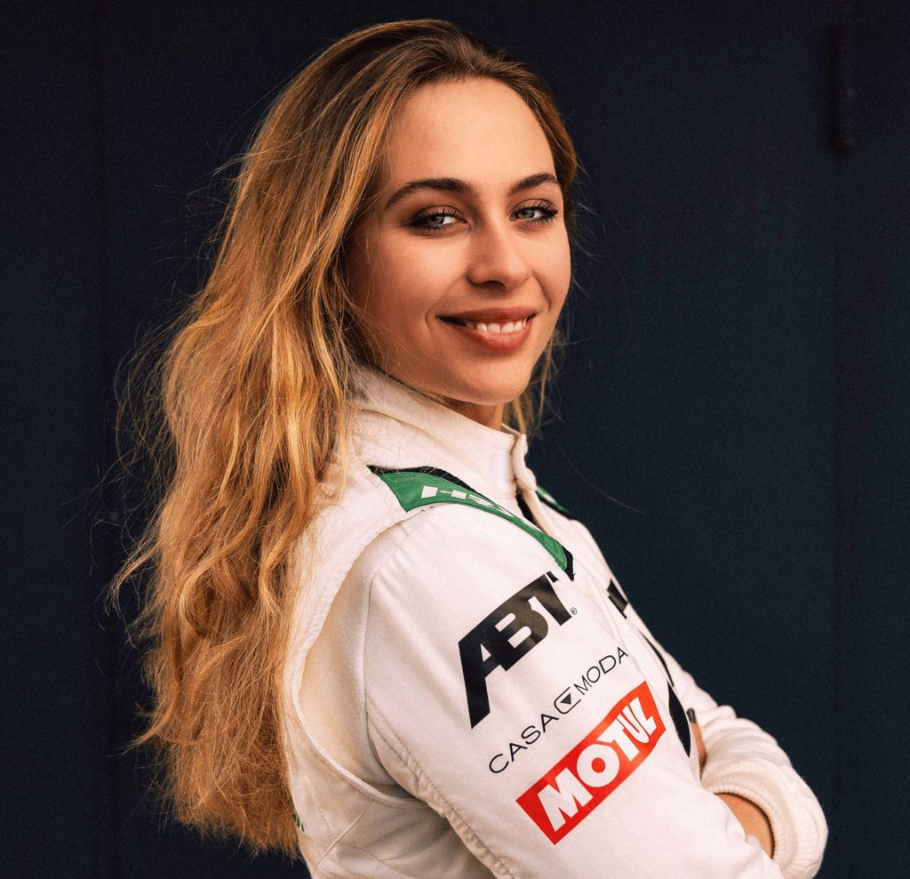 Sophia is starting the 2021 season with the ABT Audi
