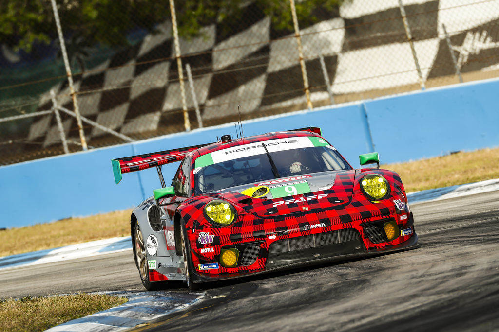 Nolan, the Pfaff Motorsport 911 GT3 R, which won the Sebring 12 Hours (in class) has a livery that perfectly fits in a long history of iconic Motul liveries. What makes it so special?