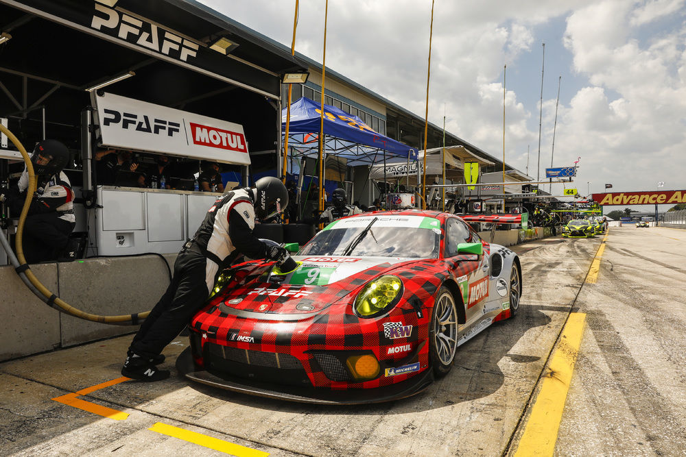 What does it mean to have Motul on (and in) a Porsche race car?