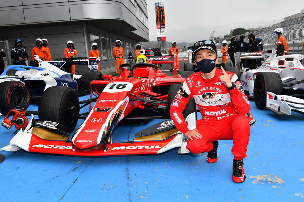 TEAM MUGEN TRIUMPHS IN FIRST TWO SUPER FORMULA BOUTS