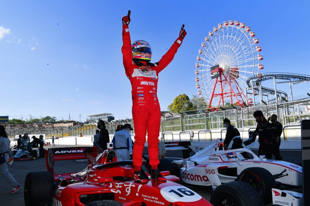 Congratulations on the victory in both Fuji Speedway and Suzuka. Could you explain to people in Europe and the US what makes Super Formula so unique?