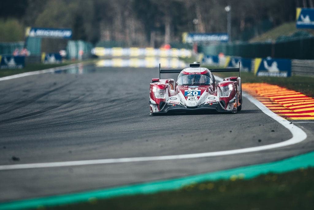 You were best known for racing the Corvette in the US and Le Mans, now you're passing it in an LMP2. How does that feel?