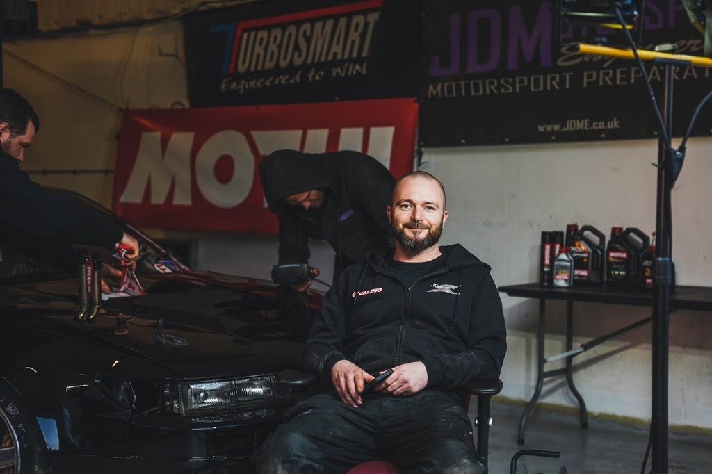 How did you get into drifting, Olly?