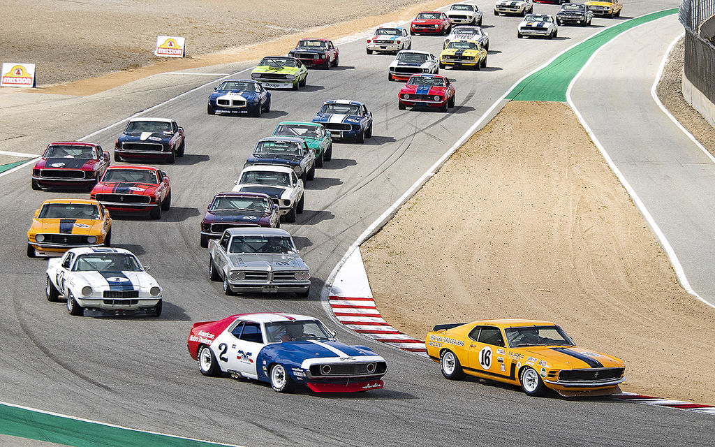 REVIVING THE ICONIC TRANS-AM RACING SERIES