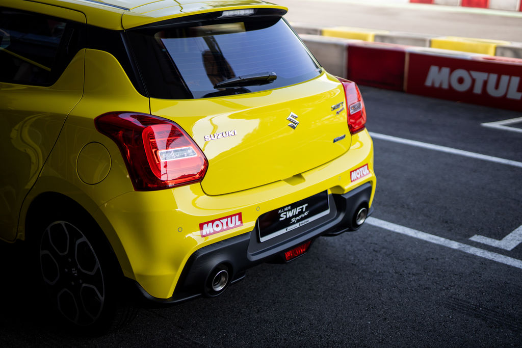 Motul has a specially-developed hybrid lubricant. Is this the one Suzuki Singapore will use?