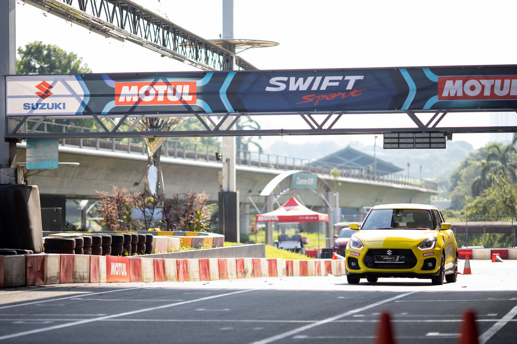 Why did Suzuki Singapore choose to work with Motul on this?
