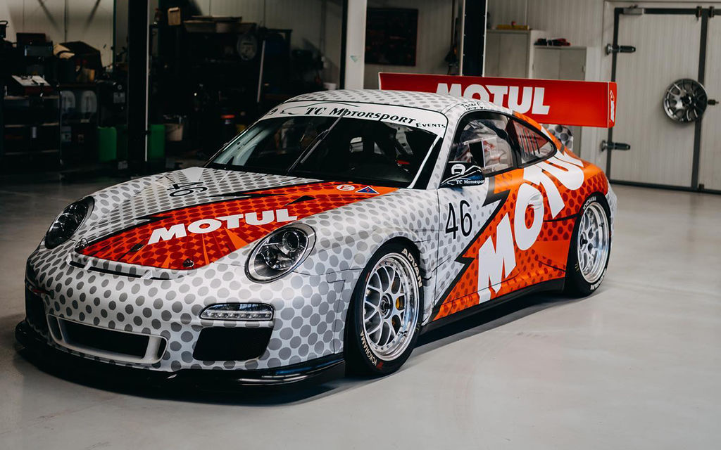 Speaking of cars, you've got a few interesting cars of your own. Starting with obviously the 997 Cup, a car with an incredible history. What's the story with it and how did it come to be in your possession?
