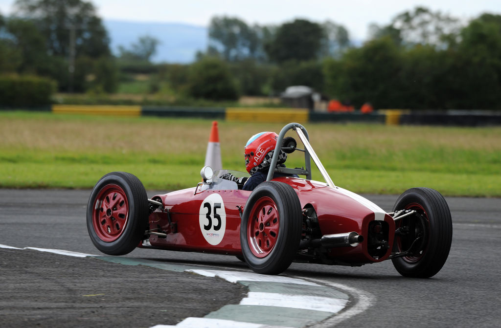 We've heard about your rather special single-seater Ford. Can you tell us more about it?