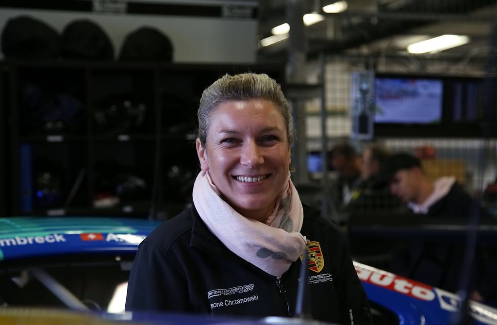 Simone, do you race as well, or do you focus on behind the scenes?