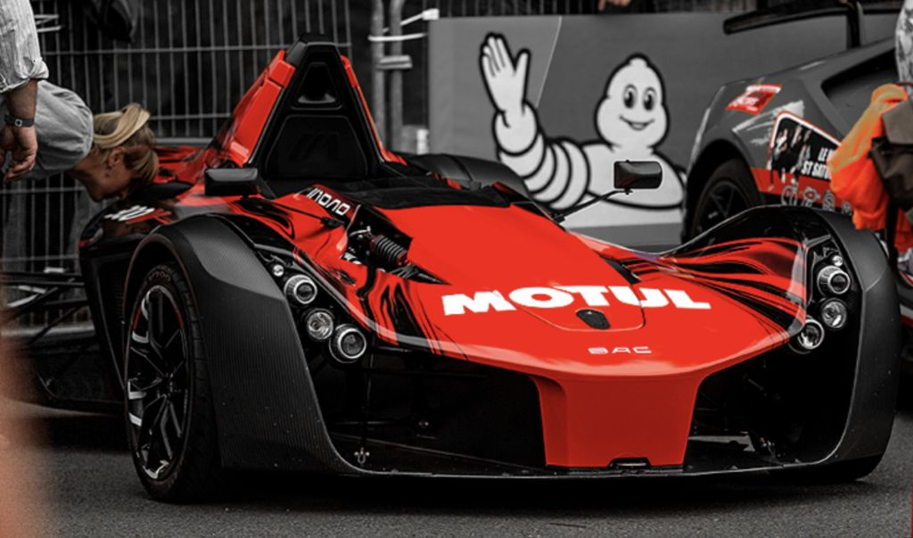 The Mono is partly based on, and influenced by, a Formula 3 car. Was its motorsport heritage the reason for choosing Motul?