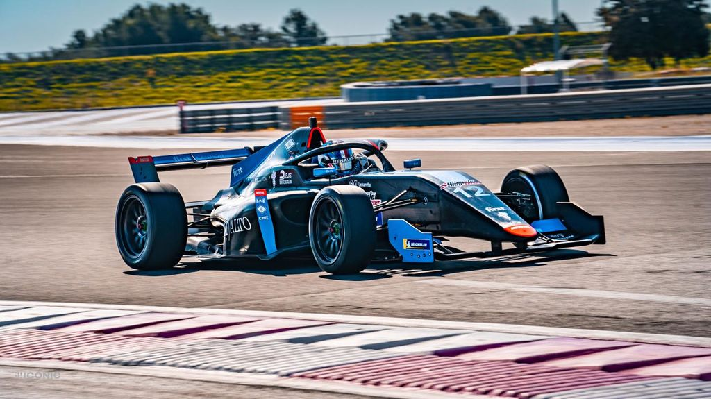 Speaking of exciting things. You're back in a single seater. What's that all about?