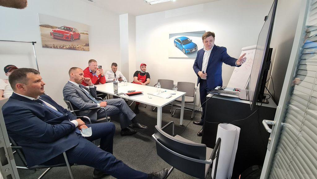 Программа MotulEvo: теперь и на базе Audi Центра в Тюмени