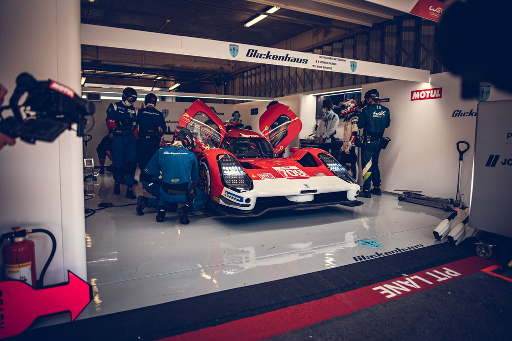 Jim, we're here at Portimao, and the Glickenhaus 007 is competing in its first WEC race. How are you feeling?