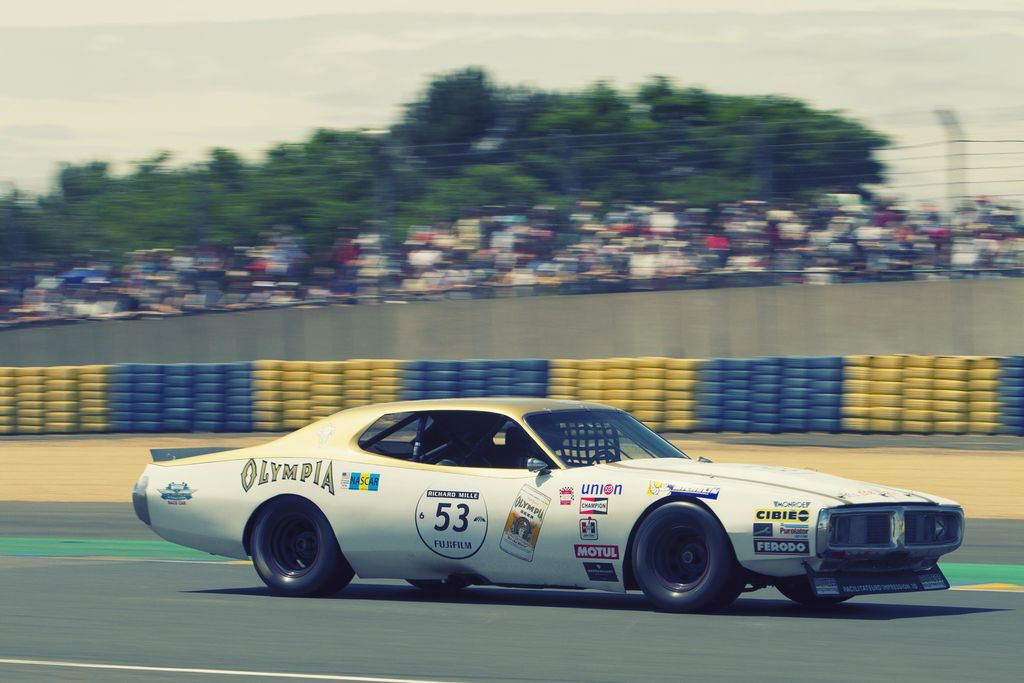 """THE MOTUL DODGE CHARGER: """"IT'S A HANDFUL TO DRIVE"""""""
