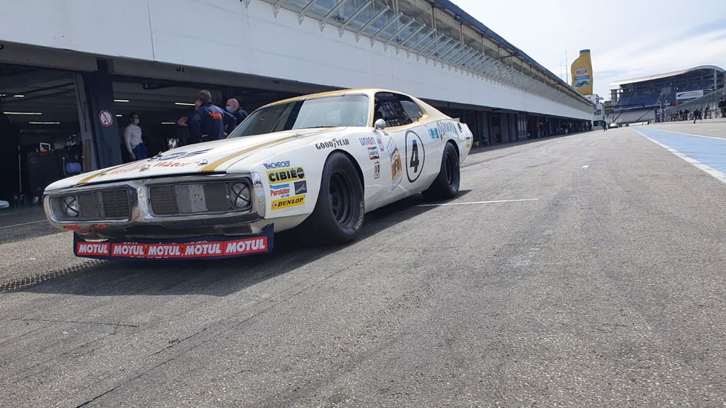 How did a Dodge Charger come to race at Le Mans?