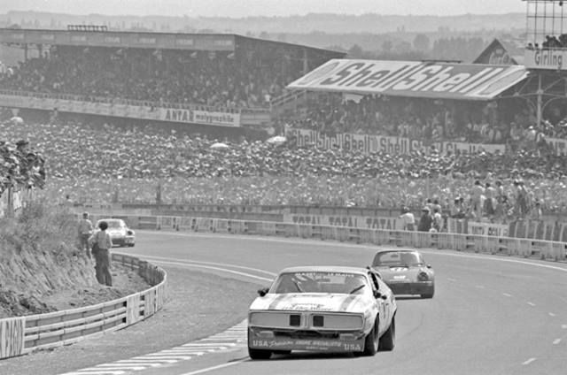 Was this the actual Charger that raced in 1976 at Le Mans?