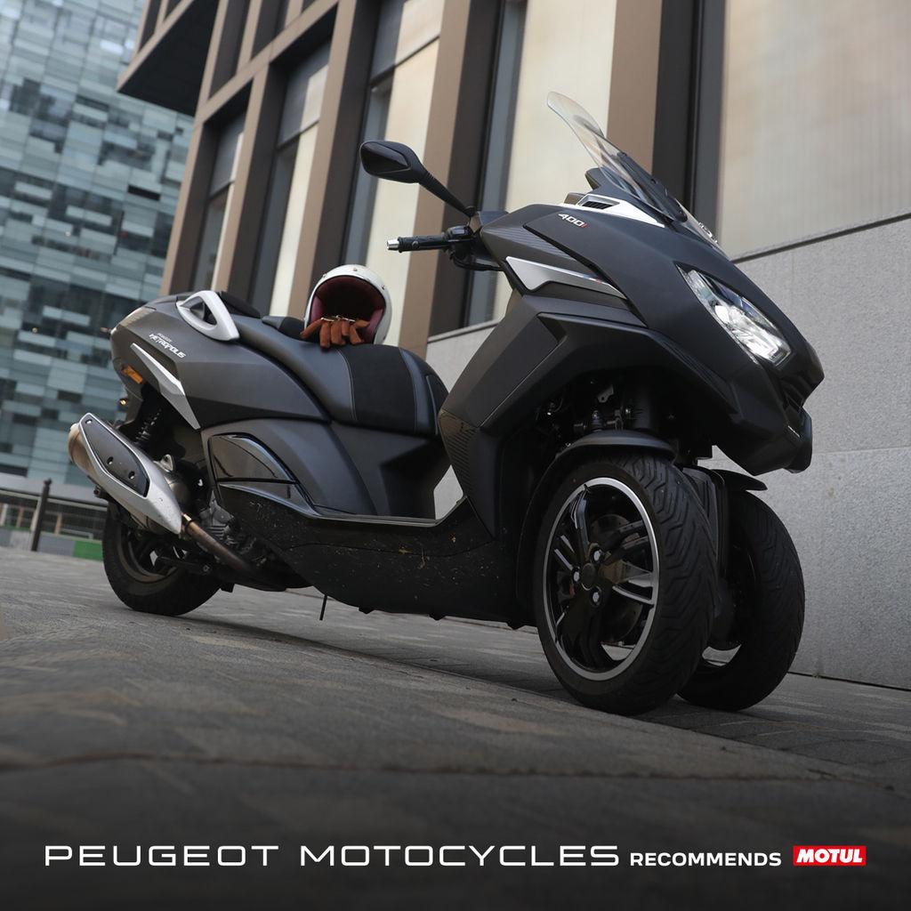 Con esta alianza, Motul pondrá a disposición de Peugeot Motocycles todos sus innovadores productos como aceites para el motor, transmisión, engranajes, así como líquidos de frenos