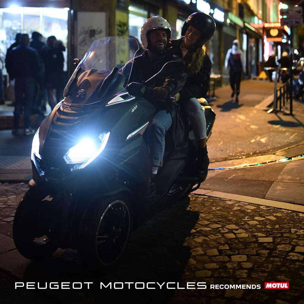 Motul y Peugeot Motocycles firman un acuerdo de colaboración mundial exclusivo