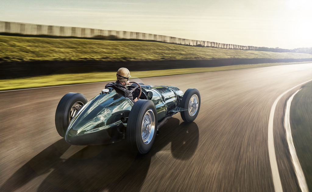 REVIVING AN F1 LEGEND: THE NEW BRM V16